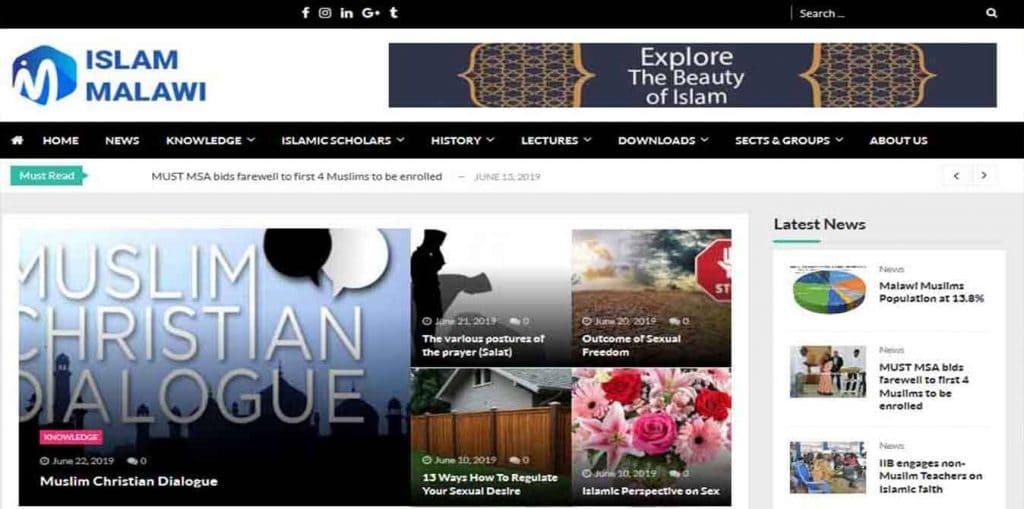 Islam Malawi Website