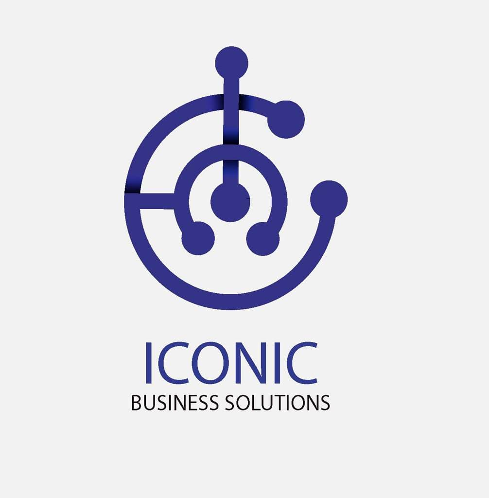 Logo Graphic Design Iconic Business Solutions Blantyre Malawi